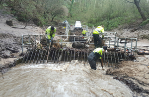 Environment Agency teams working to reduce flood risk