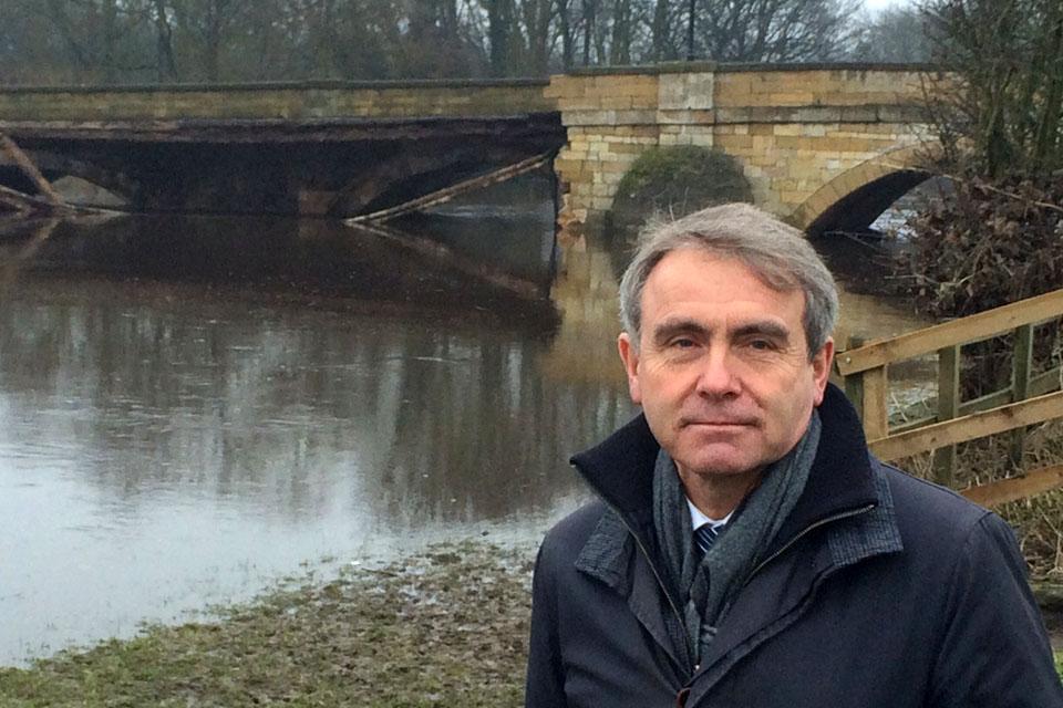 Robert Goodwill visits Tadcaster