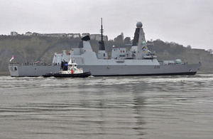HMS Dragon (stock image)