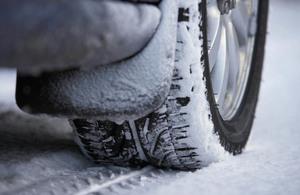 A car in winter
