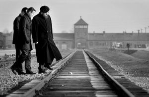 Prime Minister David Cameron on visit to Auschwitz
