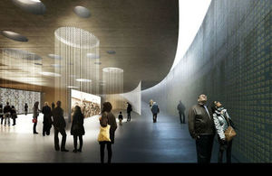 The proposed Holocaust learning centre