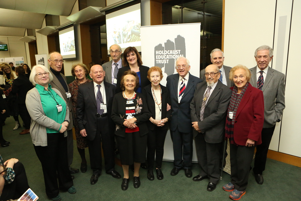 Nicky Morgan at the Holocaust Education Trust