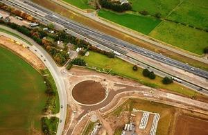 A1 aerial view