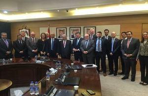 UK Secretary of State for Business, Innovation and Skills visits Jordan