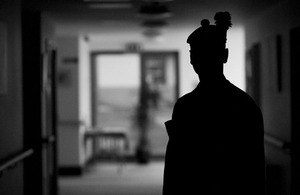 Soldier at the Army Personnel Recovery Centre in Edinburgh