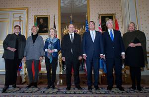 UK Defence Secretary Michael Fallon attends counter-Daesh meeting in Paris