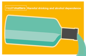 Infographic showing liquid pouring from an alcoholic bottle