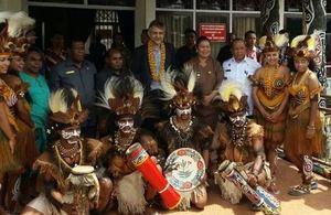 British Ambassador Moazzam Malik visits Papua