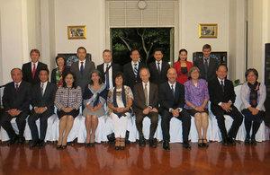 British Ambassador hosts a dinner to celebrate Prince Mahidol Award British Scientist Sir Michael Marmot