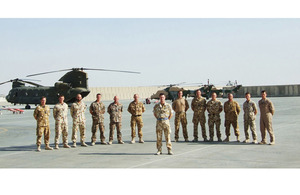 The members of the multinational Joint Helicopter Force (Afghanistan)