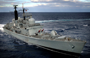 HMS Manchester (stock image)