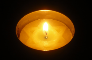 Holocaust Remembrance Candle