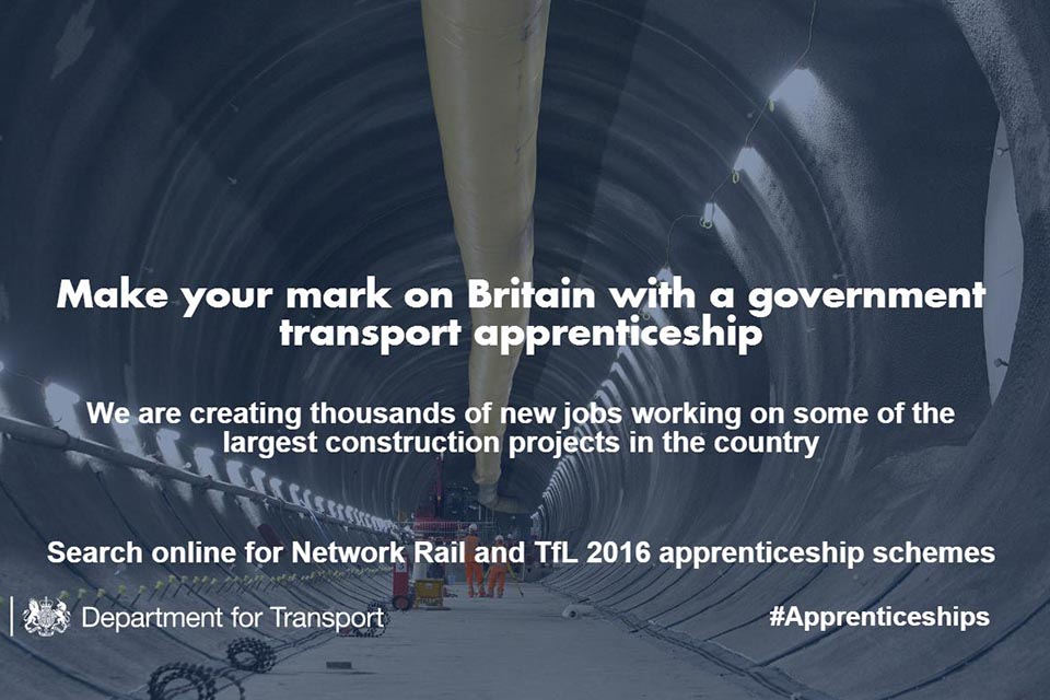Crossrail apprenticeships image.