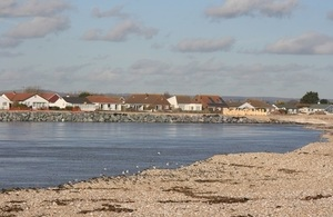 The channel at Pagham, West Sussex