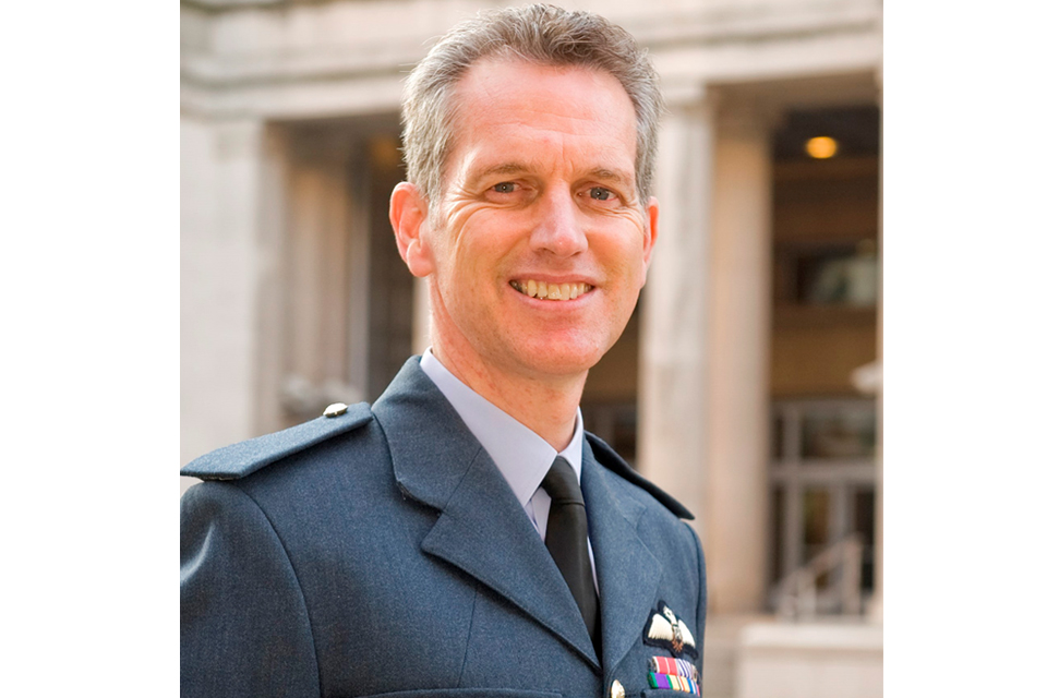 Air Marshal Sir Stephen Hillier KCB CBE DFC MA RAF