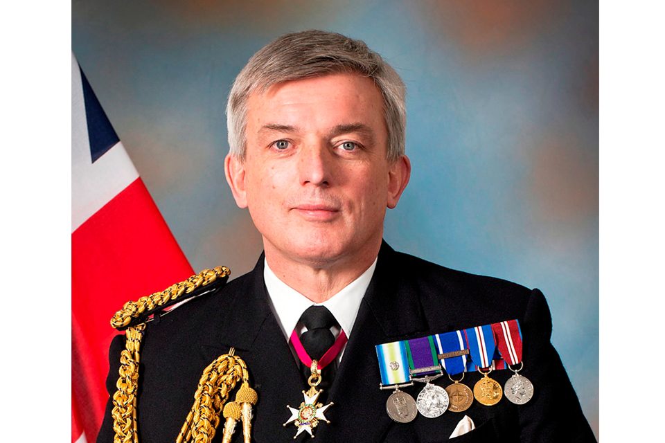Vice Admiral Sir Philip Jones KCB