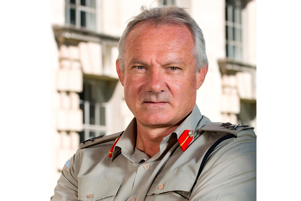 Lieutenant General Gordon Messenger CB DSO* OBE