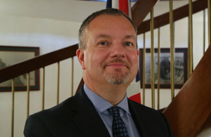 British Ambassador Matthew Lodge