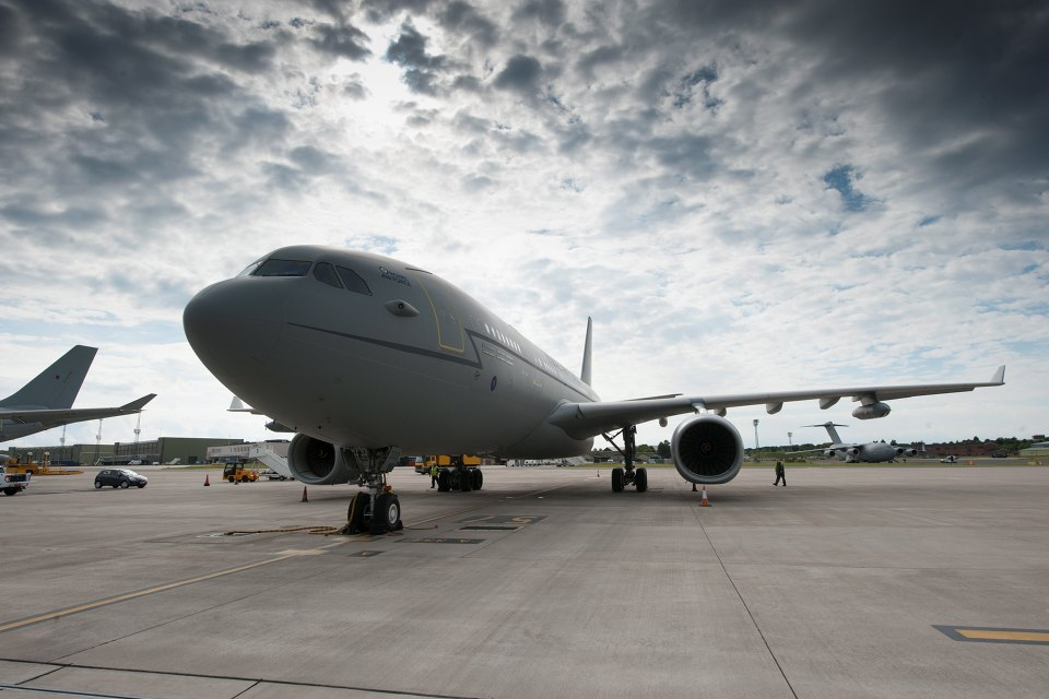Personnel will also be able to fly Voyager aircraft - used for air-to-air refuelling - on completion of their training. Crown Copyright.