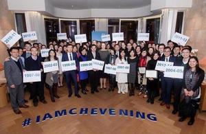 Chevening 20th anniversary in Hong Kong