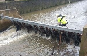 Environment Agency teams are out on the ground monitoring the situation