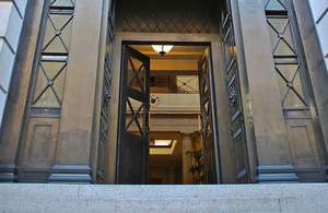 Entrance to Victoria House.