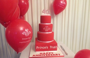Prince's Trust 40th anniversary