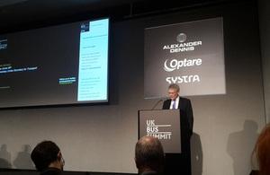 Andrew Jones delivers keynote speech