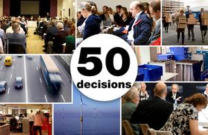 50 Decisions