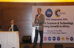 The fourth Royal Society of Chemistry and Procter & Gamble holds in Lagos