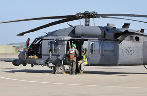 Pave Hawk HH-60 search and rescue helicopter