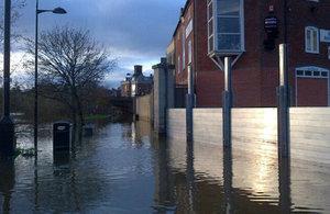 Frankwell flood defence, Shrewsbury