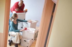 couple moving into house