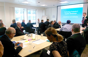 Attendees of workshop engaged in interactive sessions