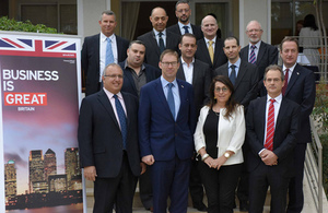 Minister for Middle East Tobias Ellwood visits Israel