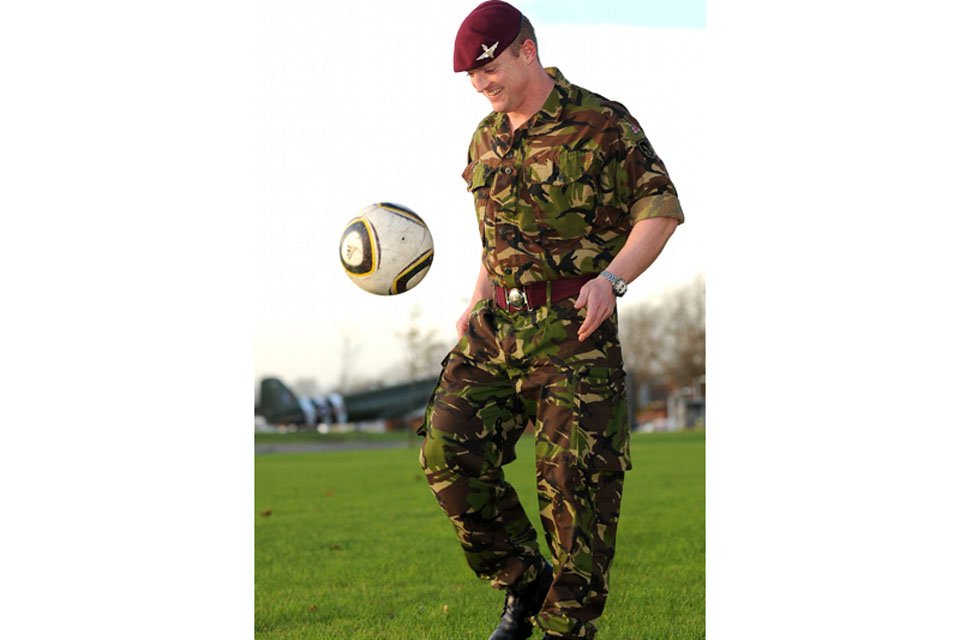Lance Corporal Tony Fitzpatrick, 2nd Battalion The Parachute Regiment