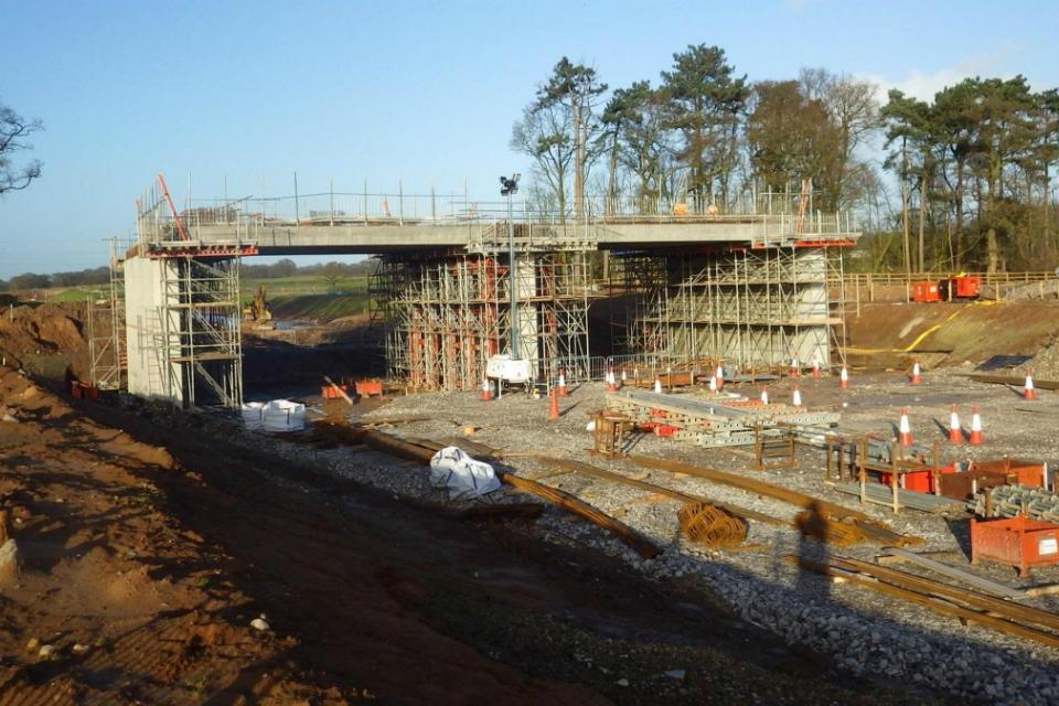 A556 Tabley bridge