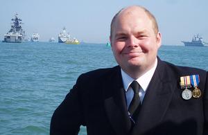Lieutenant Commander Chris Parry