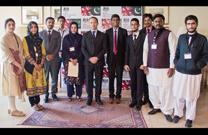 British  youth Advisory board with British High Commissioner, Thomas Drew