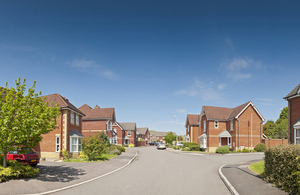 Housing estate. Copyright istock.
