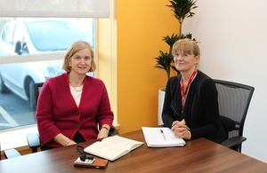 Ofqual Chair Amanda Spielman and Qualifications Wales Chair Ann Evans