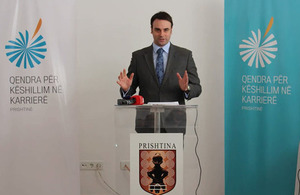 Kosovo opens the first of its kind Career Counselling Centre