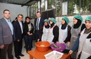 Ambassador Shorter inaugurates 2 UK-funded projects in Bissarieh