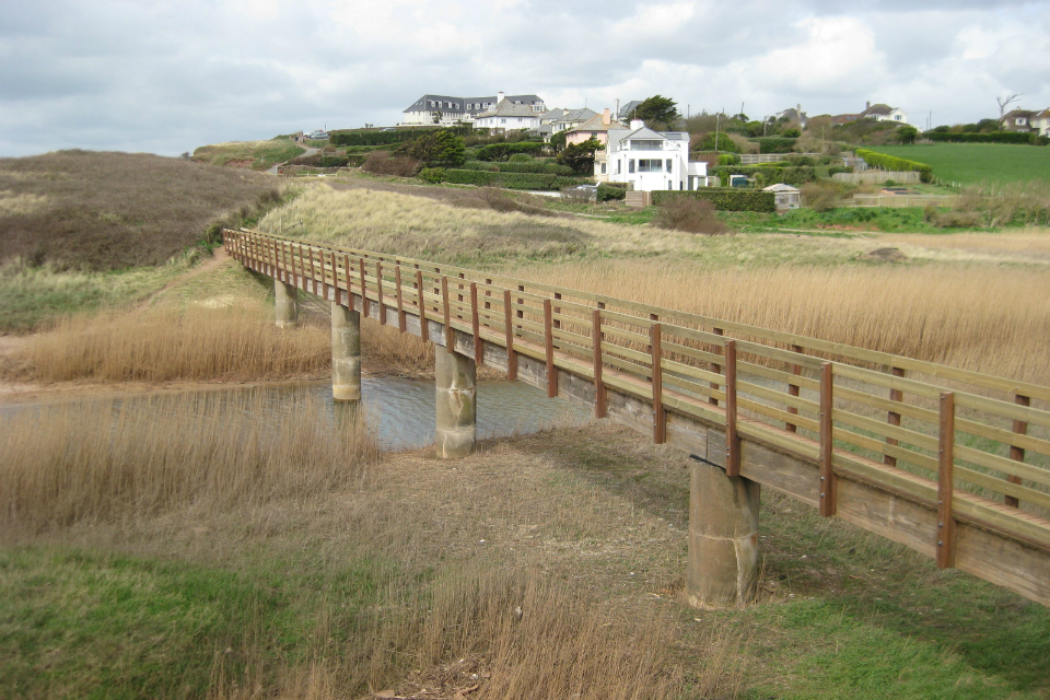 South West Coast Path, Thurlestone Sands, Devon