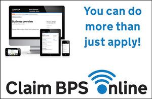 Claim BPS Online