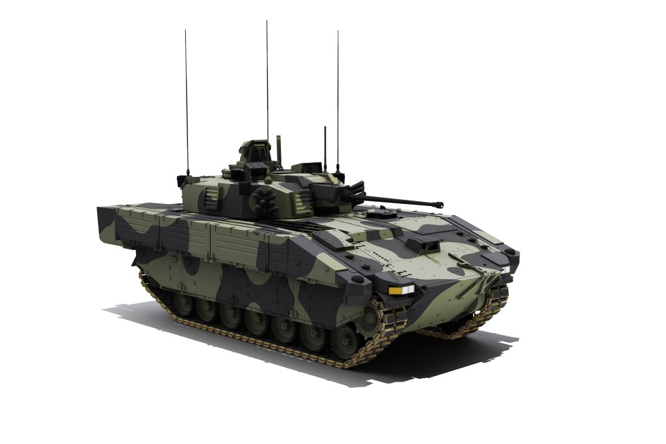 The 589 Ajax vehicles will be the 'eyes and ears' of the British Army on the battlefields of the future.