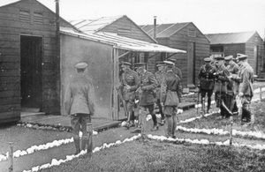 King George V visited Porton Down in 1918