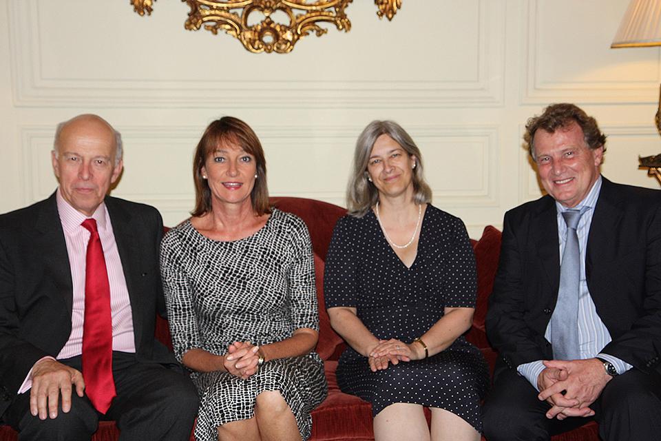UK Ambassador John Freeman welcomed the newly-designated Argentine Ambassador to the UK
