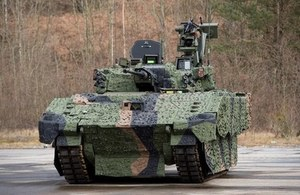 The British Army will receive 589 Ajax vehicles which will come in six variants. Crown Copyright.